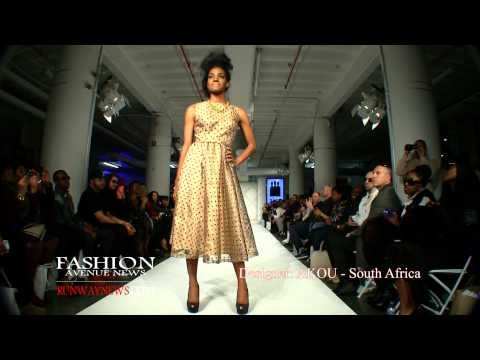 Brooklyn Fashion Week - Designer AKOU - West Africa