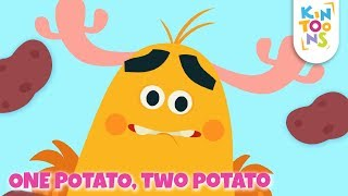 Learning Numbers And Counting 1 To 10 - One Potato, Two Potatoes   Kids Nursery Rhymes   KinToons