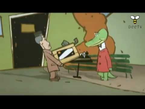 Японский мультфильм про Чебурашку (Русские субтитры)
