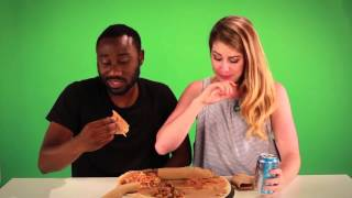 Funny Habesha Video (people trying Ethiopian Food Funny Reaction)