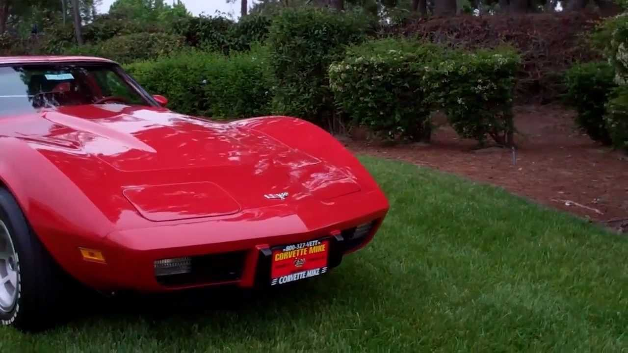 sold 1977 red corvette coupe for sale by corvette youtube. Cars Review. Best American Auto & Cars Review