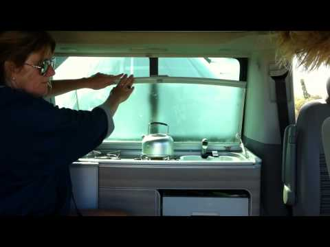 VW California Campervan - factory fitted - Cool camping with kids