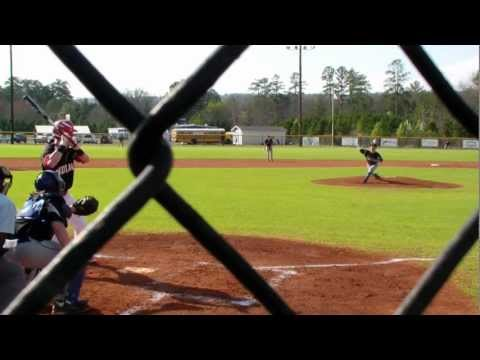 1st inning vs. Chattooga High School March 14, 2012