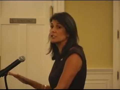 S.C. Gov. Nikki Haley speaks at Orangeburg County Chamber event