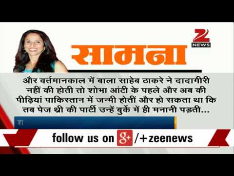 Mumbai: Shiv Sena steps up attack on author Shobhaa De