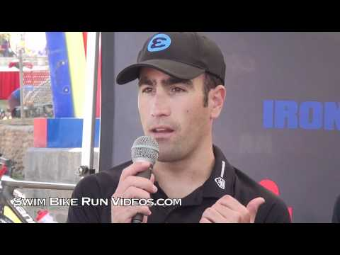 Eneko Llanos, 2011 Ironman Arizona, Pro Press Conference