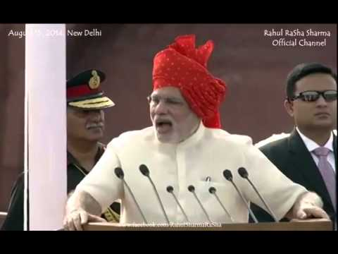 PM Narendra Modi FULL speech on 15th August at RED FORT