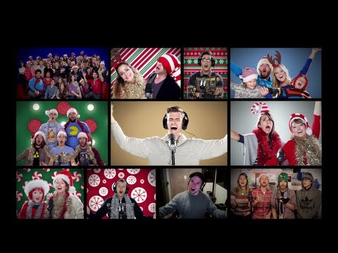 Deck The Halls - Mike Tompkins and friends!