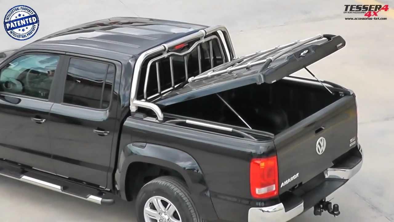 At www.accessories-4x4.com: VW Amarok cover lid pick up ...
