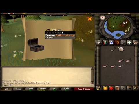 Runescape 2007 Rare Clue Scroll Rewards