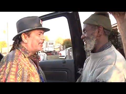 Carlos Santana's Reunion With Homeless Former Drummer