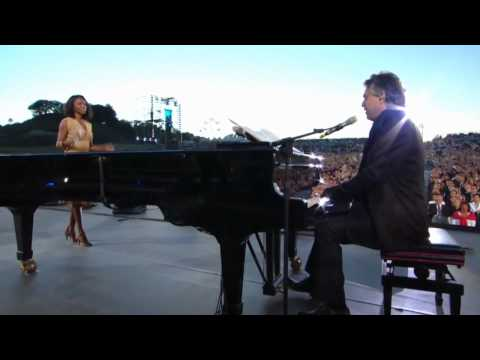 Andrea Bocelli - Vivo Perlei feat. Heather Headley (live)
