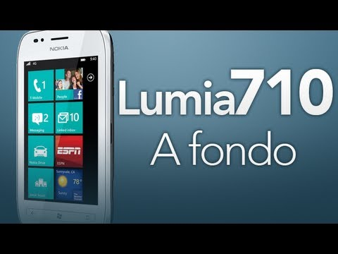 Nokia Lumia 710 - A fondo (Video Review)