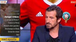 نقاش ببلاطو ليكيب الفرنسية حول رجل مباراة المغرب وبالرتغال وهدف رونالدو سبقه خطأ من بيبي