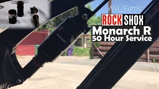 DIY RockShox Monarch R Debonair 50-Hour Air Can Service