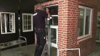 Topstyret vindue afmontering