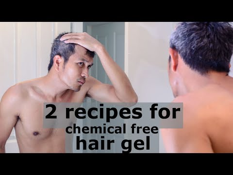 2 Recipes For Chemical Free Hair Gel | Real Hair Care Tips