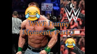 WWE Botches And Funny Moments Part 2