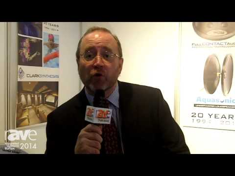 ISE 2014: Clark Synthesis Features Underwater Swimming Pool Speaker