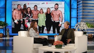 Leah Remini's Mom Got a Little Too Handsy at Chippendales
