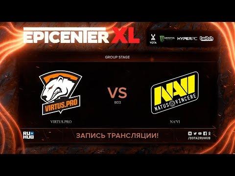 Virtus.pro vs Na'Vi, EPICENTER XL, game 1 [Maelstorm, Jam]