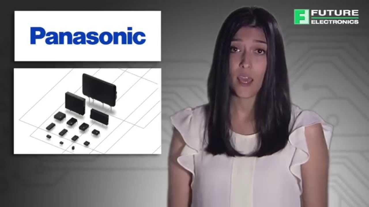 Panasonic PhotoMOS Optically Isolated Relays, AGN Signal Relays