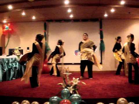 in Modern Singkil Dance w/