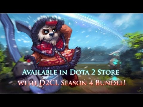 Basim - Young Courier from Cobalt is now in Dota 2 store! [D2CL Season 4 Promo]