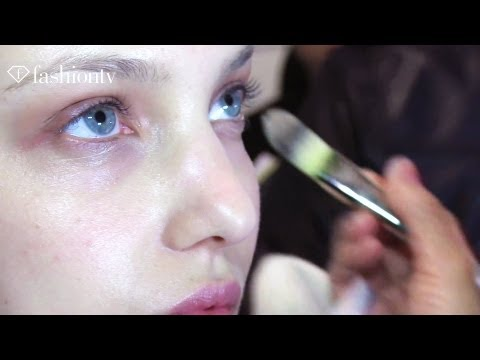 Models & Makeup Backstage at Edun Fall 2012 - New York Fashion Week | FashionTV