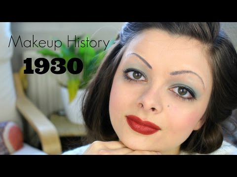 1930s inspired makeup