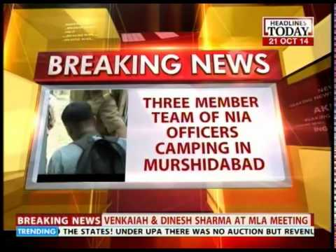 Three-member NIA team camping in Murshidabad to probe terror links