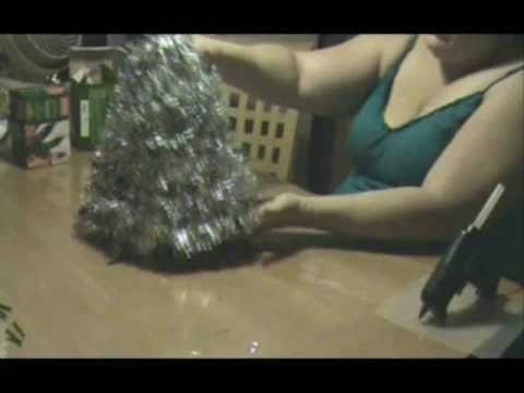 How To Make A Christmas Tree Using Coat Hangers