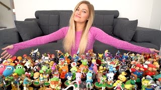 Amiibo Collection - 175 Amiibo into Zelda Breath of the Wild