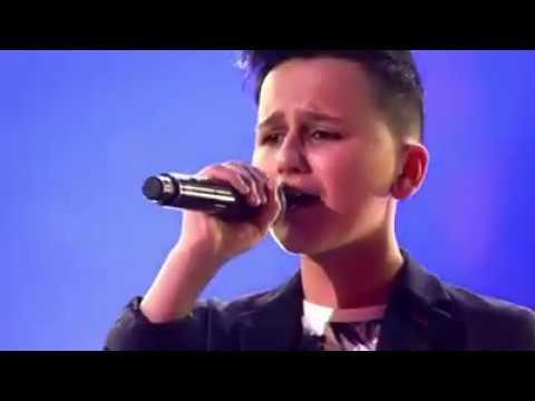 Afghan boy - singing titanic song