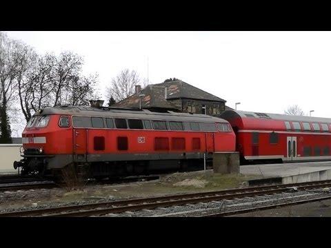 DB Bahn - Nr. 13 - Führerstandmitfahrt - Von Alzey nach Mainz Hbf - BR 218