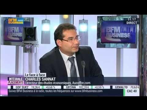 Interview BFM Business - Charles Sannat - Déflation en zone euro - Intégrale Placements 03/10/2014
