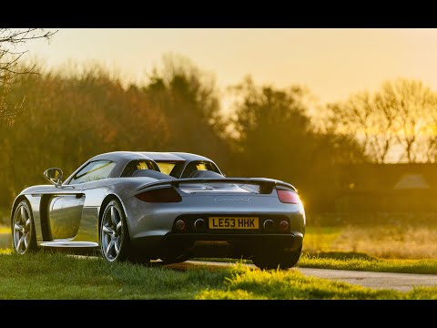 Porsche Carrera GT history and on-road review. Best sounding Porsche ever?