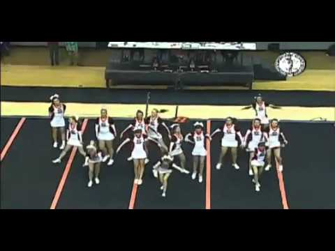 Sallisaw High School Cheerleaders at 2013 State Comp.