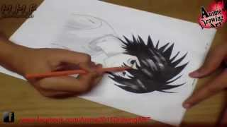 speed Drawing How to Draw Riyozaki L From Death Note كيف ترسم ريوزاكى ال من انمى ديث نوت
