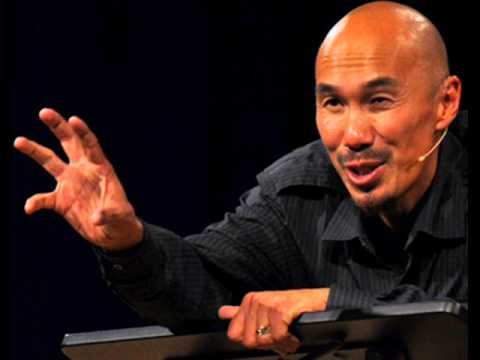 Francis Chan tells HILLARIOUS Asian joke!!! Congregation howls in laughter!!!