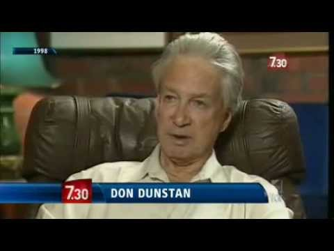 ABC TV 7.30 SA - Don Dunstan Oral History Database