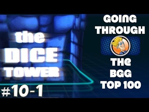 Going Through the BGG Top Rated (10-1)
