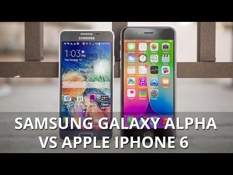 Samsung Galaxy Alpha vs Apple iPhone 6 (2)