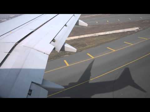 Jet Airways landing at New  Delhi
