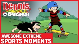 Most Awesome Extreme Sports Moments | Dennis the Menace and Gnasher