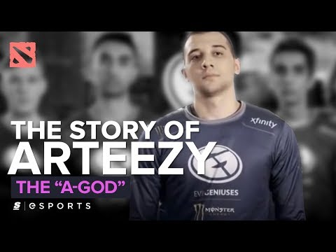 The Story of Arteezy: The A-God (Dota 2)