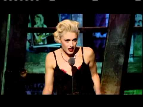 Gwen Stefani inducts Police Rock and Roll Hall of Fame inductions 2003