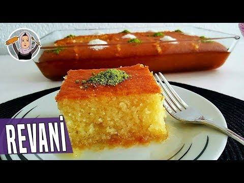 Portakallı Revani Tarifi Videosu - Tatlı Tarifleri