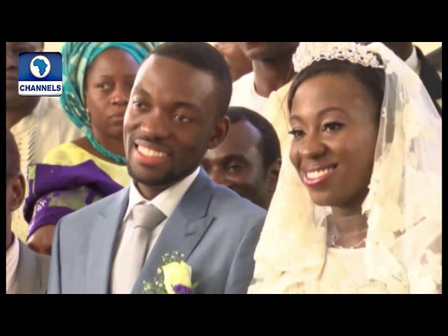 Metrofile: Newlyweds Jessica And Samuel Show Style With Bridal Train