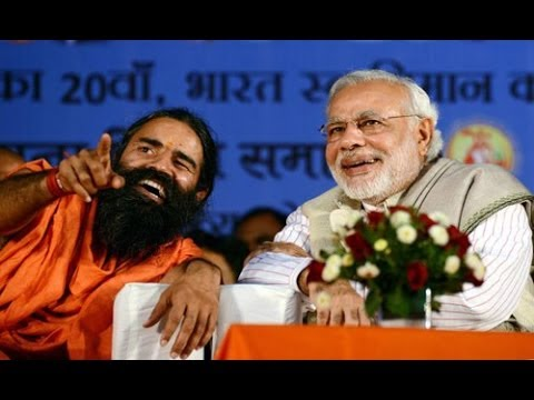 Baba Ramdev complete his sore after Narendra Modi victory